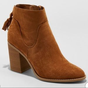Universal Threads Tassel Heeled Bootie